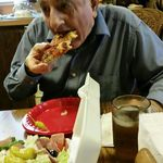 A Treat for Dad- Ordered Angelina's Pizza for Dad & Deb. Dad loved his Lunch. Oct 2016  I Love and miss you so much Papa.               Karen & Donnie