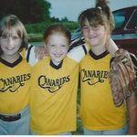 Kendra, Karen & Brittney @ T-Ball