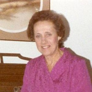 Eleanor Ruth Rucier Obituary Photo