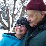 Best Grandpa hug ever - lucky Lauren!