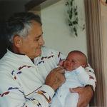 Proud happy Grandpa!