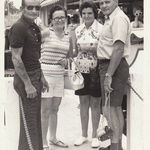 My Dad and Mom with Aunt Dot and Uncle Johnny