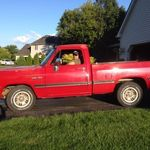 Sean was so proud of the new truck project that he would restore with his son.
