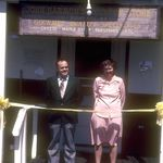Harman's Ribbon Cutting - May 1981