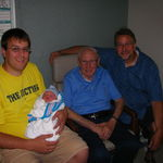 Four generations of Leja men!