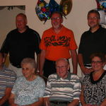 At Fred's 80th birthday party