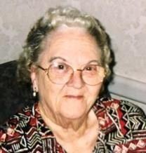 Anna Evelyn Lindsey obituary photo