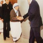 Greeting Saint Mother Theresa