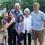 With Grandkids and Great Grandkids