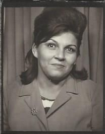 Mary Baeza obituary photo