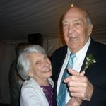 Dancing with Eileen, Amanda & Jeff's wedding