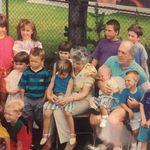 with the grandchildren ~1994