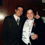 jason popson and john at johns wedding
