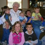 Grannie and 6 of her great grandchildren
