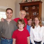 The original 5. Mark, Dad, Mom, Erin and Shannon.