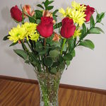 Flowers from your Big brother :) I still celebrate my birthday with you! Love you Kendra! - Tanya