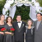 Jason's Wedding (Rachel, Rene, Jason, Mom & Abe