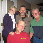 Cousins. Didn't get together much but enjoyed each time. Lester will be missed.