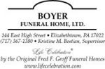 Boyer Funeral Home, Ltd.