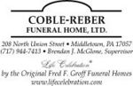 Coble-Reber Funeral Home, Ltd.