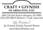Craft-Givnish Funeral Home of Abington, Ltd.