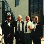 Otis, Gene, Gary, and Robert at Jennifer's high school graduation.