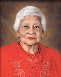 Maria Buenaventura Ayala obituary photo