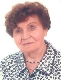 Boleslawa Bujwid obituary photo