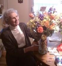Olive Baucom obituary photo