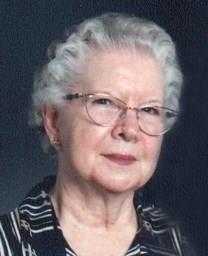 Mary Evelyn Filkins obituary photo