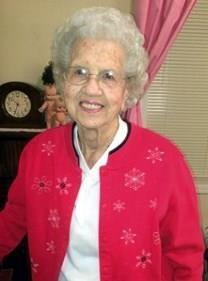 Eva Genevieve Sparks obituary photo