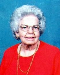 Mabel Jennings Vandergriff obituary photo