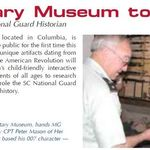 The SC Military Museum Grand Opening Announcement in the Spring 2006 edition of the Palmetto Guard Family Magazine.