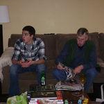 David & John Thanksgiving 2010