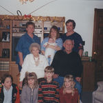 Mom, me, baby tyler, Rod