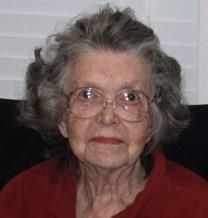 Gladys Vivian Page obituary photo