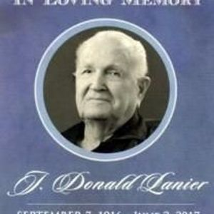 Joseph Donald Lanier