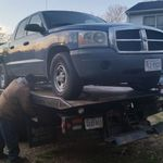 Bringing the broken Dodge home with Manny Johnson