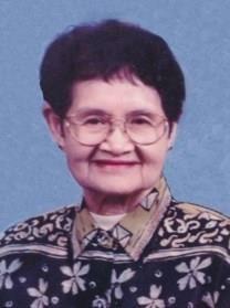 Gloria V. Trias obituary photo