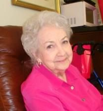 Betty Jeannette Borders obituary photo