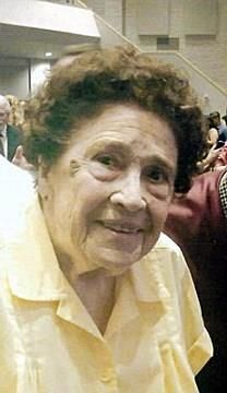 Maxine Emma Matthews obituary photo