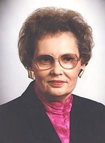 Peggy Jean Thomson obituary photo