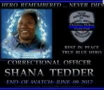 Shana Ren�e Tedder obituary photo