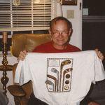 Paul and a Golf Tee Shirt