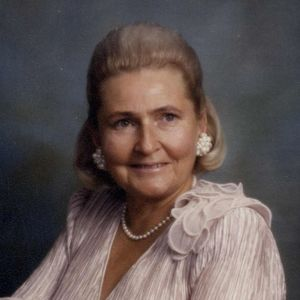 "Georgetta F. ""Georgie"" McAleer  Obituary Photo"