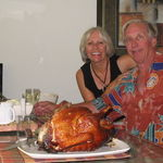 Thanksgiving turkey for two