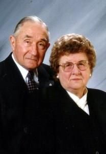 Eleanor Virginia and Roland Wright obituary photo
