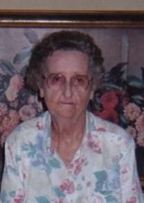 Bessie Agness Alexander obituary photo