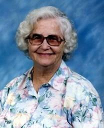 Grace Lorena Albritton obituary photo