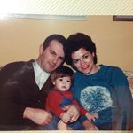 David with Ronni and Emily as a toddler